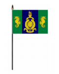 Logistic Regiment Hand Flag - Small.